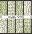 hexagon geometric patternpattern fills web vector image vector image
