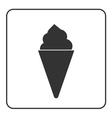 Ice cream icon 1 vector image