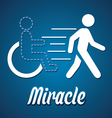 Miracle vector image