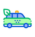 online taxi icon vector image