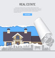 sale purchase lease rent real estate concept vector image