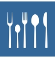 Set of cutlery vector image vector image