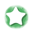 star favorite isolated icon vector image vector image