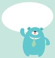 bear said vector image