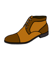 boot in style vector image vector image