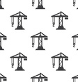 building crane seamless pattern vector image vector image