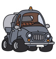 Funny tank truck vector image vector image