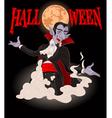Halloween Dracula vector image