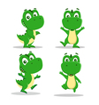 little dinosaurs vector image vector image