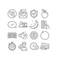 parking garage select alarm and loop icons vector image