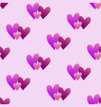 valentines hand drawn gradient pattern-04 vector image vector image