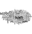 a team that gleamed text word cloud concept vector image vector image