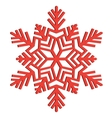 Decorative abstract snowflake vector | Price: 1 Credit (USD $1)