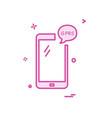 gprs phone icon design