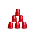 Speed Stacks Cups Stacking Sport Flying Cup Game vector image vector image