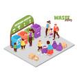 zero waste vector image vector image