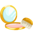 Cosmetic Powder vector image
