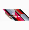 abstract color lines dynamic background modern vector image vector image