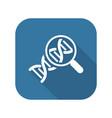 biochemistry icon flat design vector image