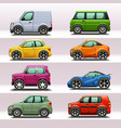 car icon set-4 vector image