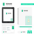 user profile business logo tab app diary pvc vector image vector image