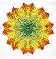 abstract colorful ornament vector image vector image