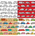 cars seamless vector image vector image