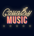 country music vintage 3d lettering dance party