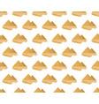 egyptian pyramids seamless pattern modern vector image