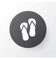 flip flops icon symbol premium quality isolated vector image