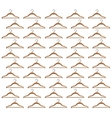 hook clothes hanger seamless pattern vector image