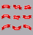 new advertising banners and stickers vector image vector image