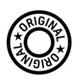 original stamp label vector image