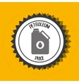 petroleum oil barrel icon vector image