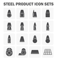 Steel structure material vector image vector image