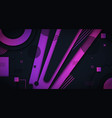 abstract background with luxurious dark purple vector image vector image