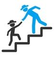 Boy Education Steps Icon vector image vector image