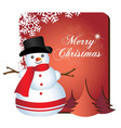 christmas fun vector image vector image