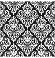 Damask wallpaper background vector image vector image