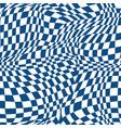 distort black halftone square background vector image vector image