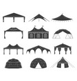 event tent set vector image