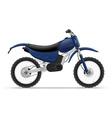 motorcycle 01 vector image vector image