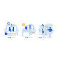 online doctor concept consultation medical vector image