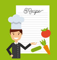 people cooking design vector image vector image