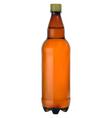 plastic bottle vector image vector image