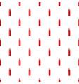 sauce bottle pattern vector image vector image