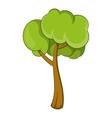 Small tree icon cartoon style vector image vector image