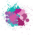 blots in bright colors vector image vector image