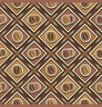 coffee seamless pattern vector image vector image