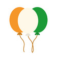 happy independence day india balloons flag color